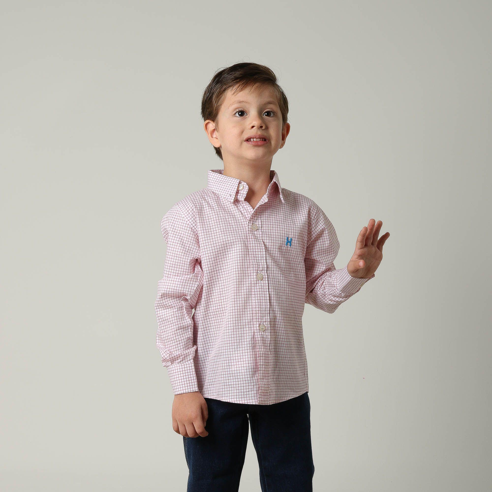 Camisa Infantil TXC 17064I