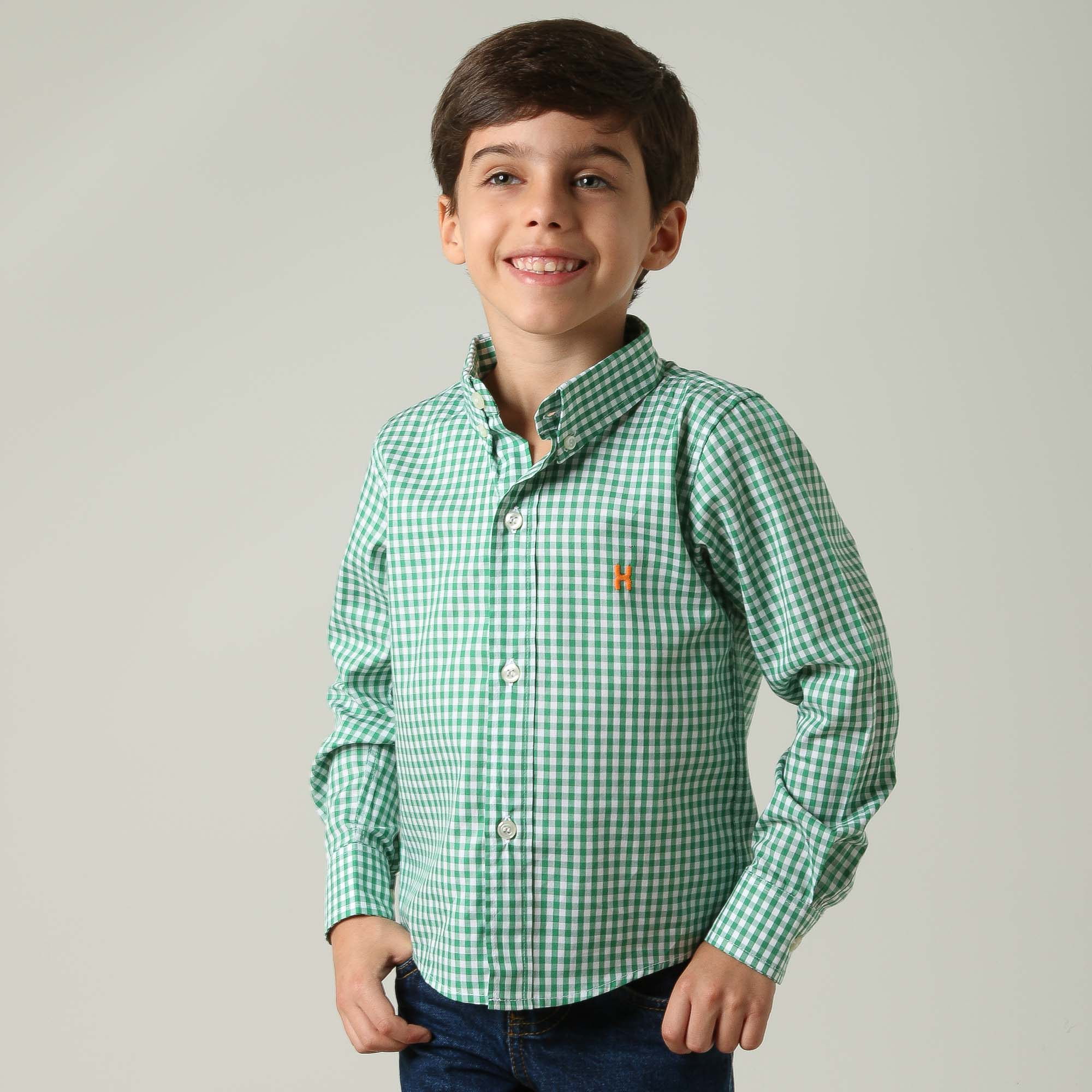 Camisa Infantil TXC 17067I
