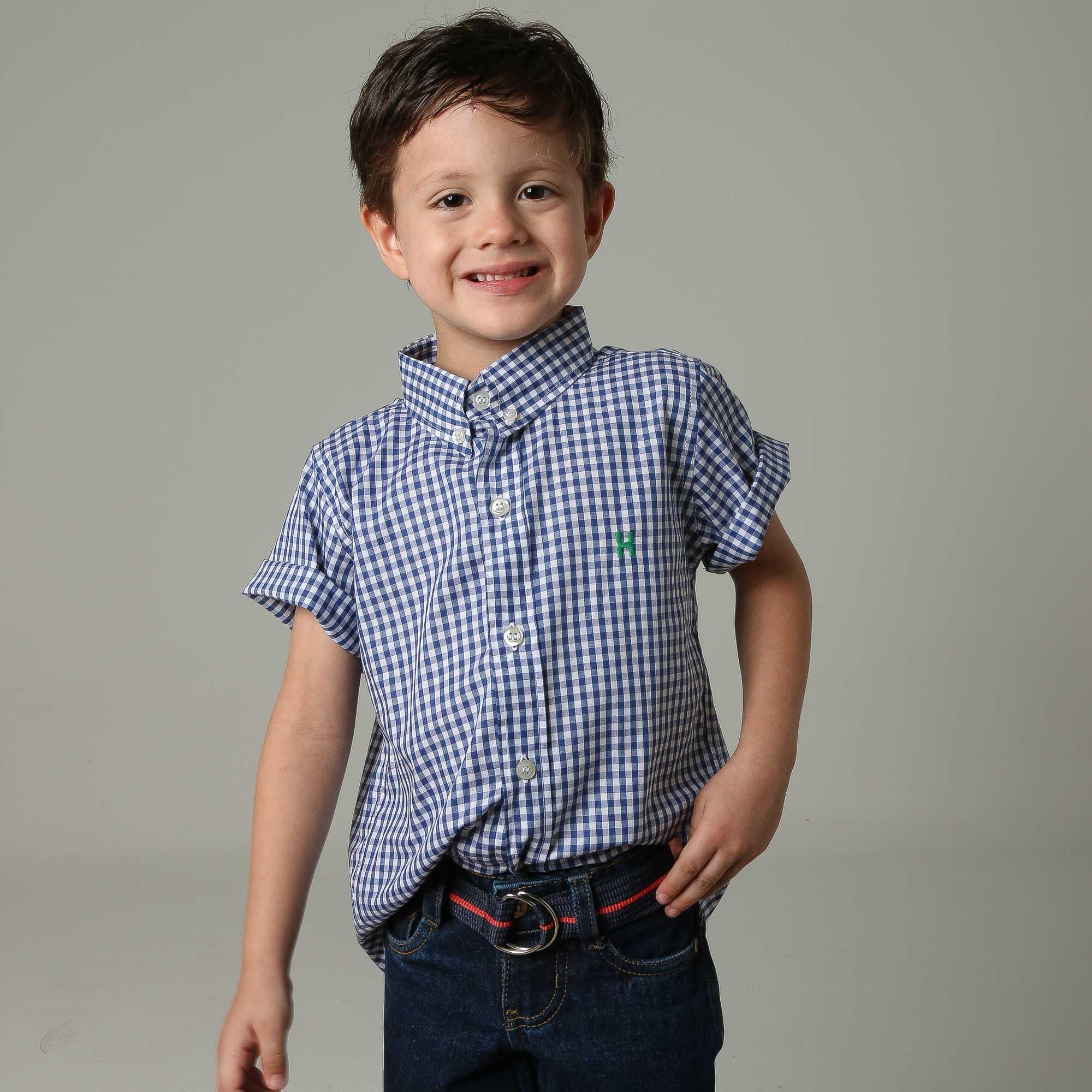 Camisa Infantil TXC 17100I