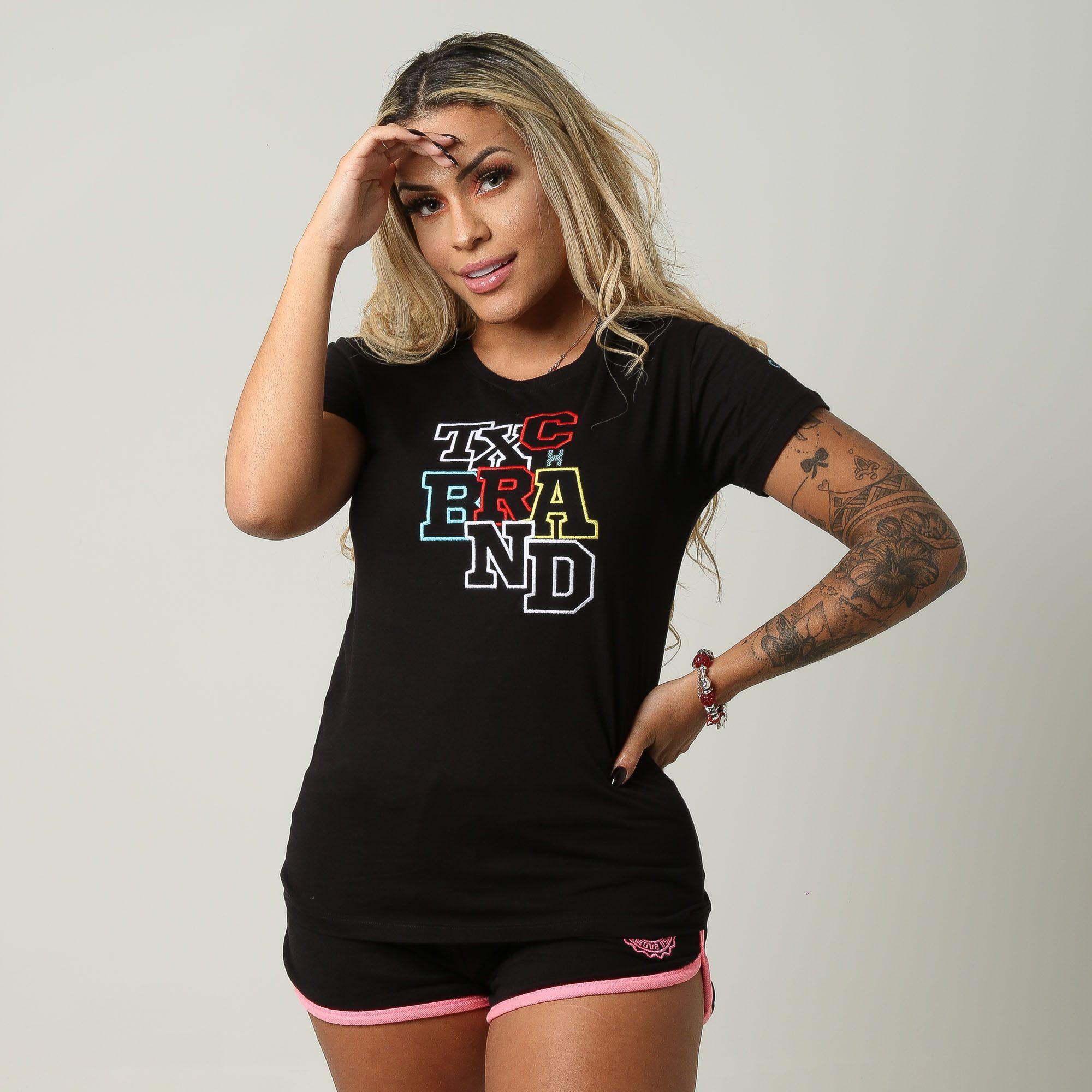 Camiseta Feminina TXC 4422