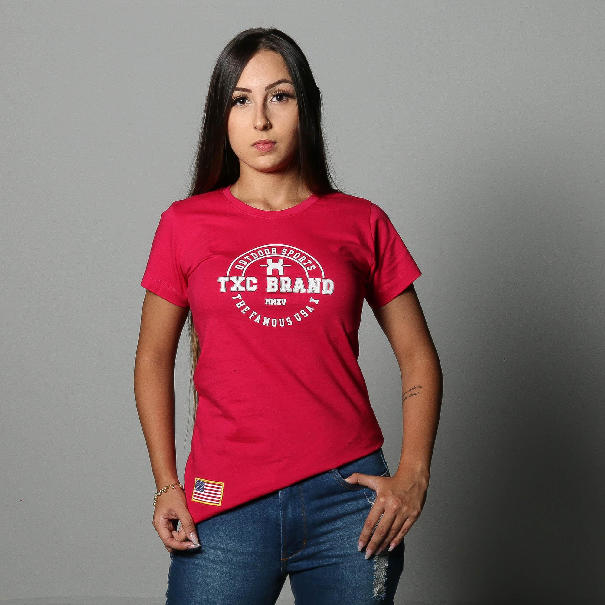 Camiseta Feminina TXC 4494