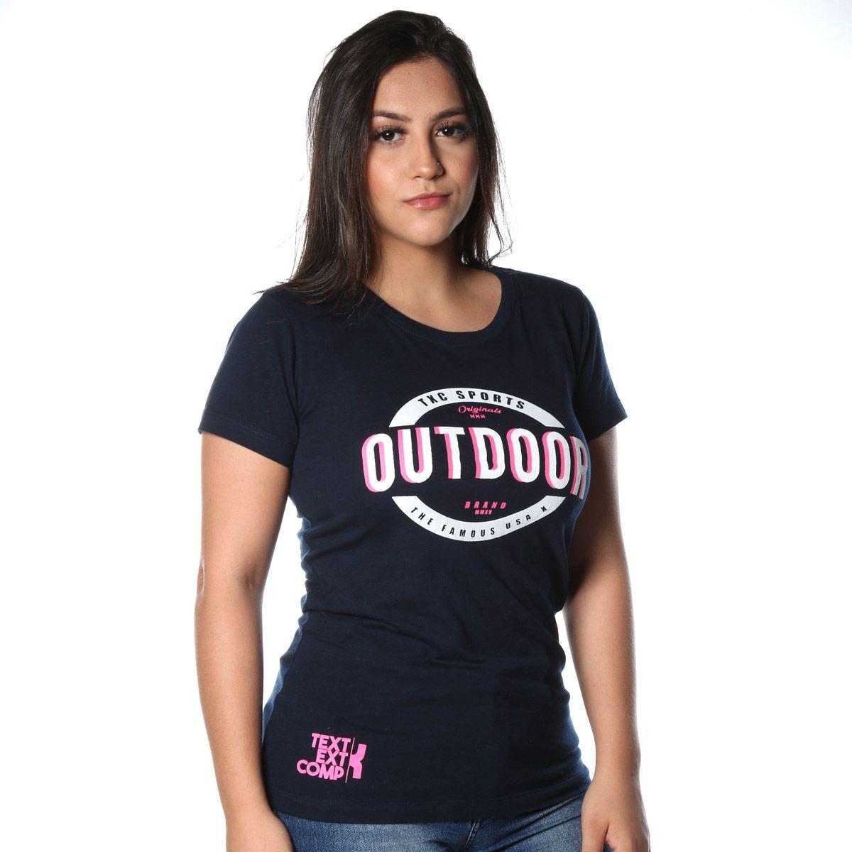 Camiseta Feminina TXC 4498