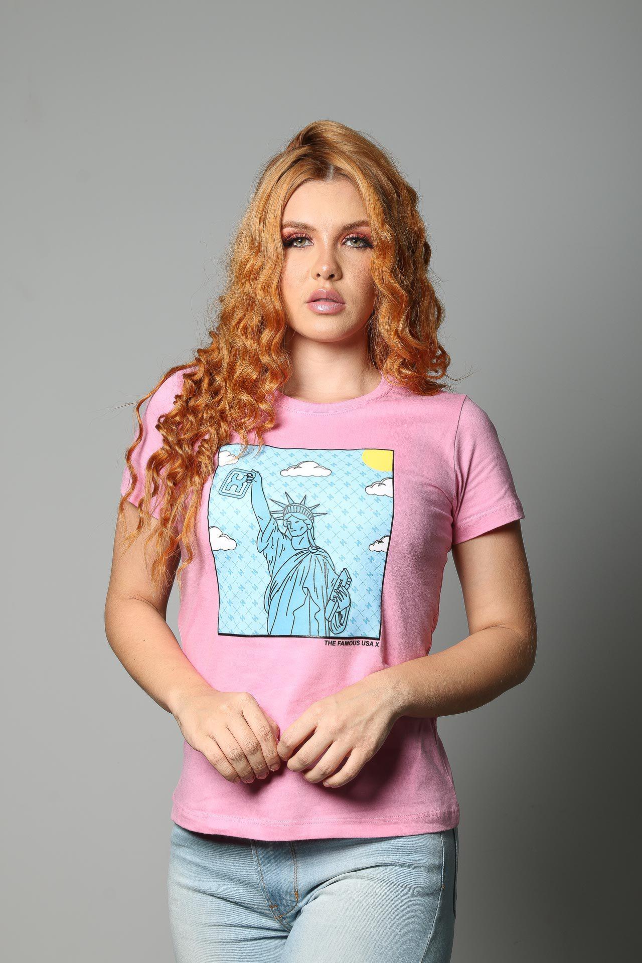 Camiseta Feminina TXC 4509
