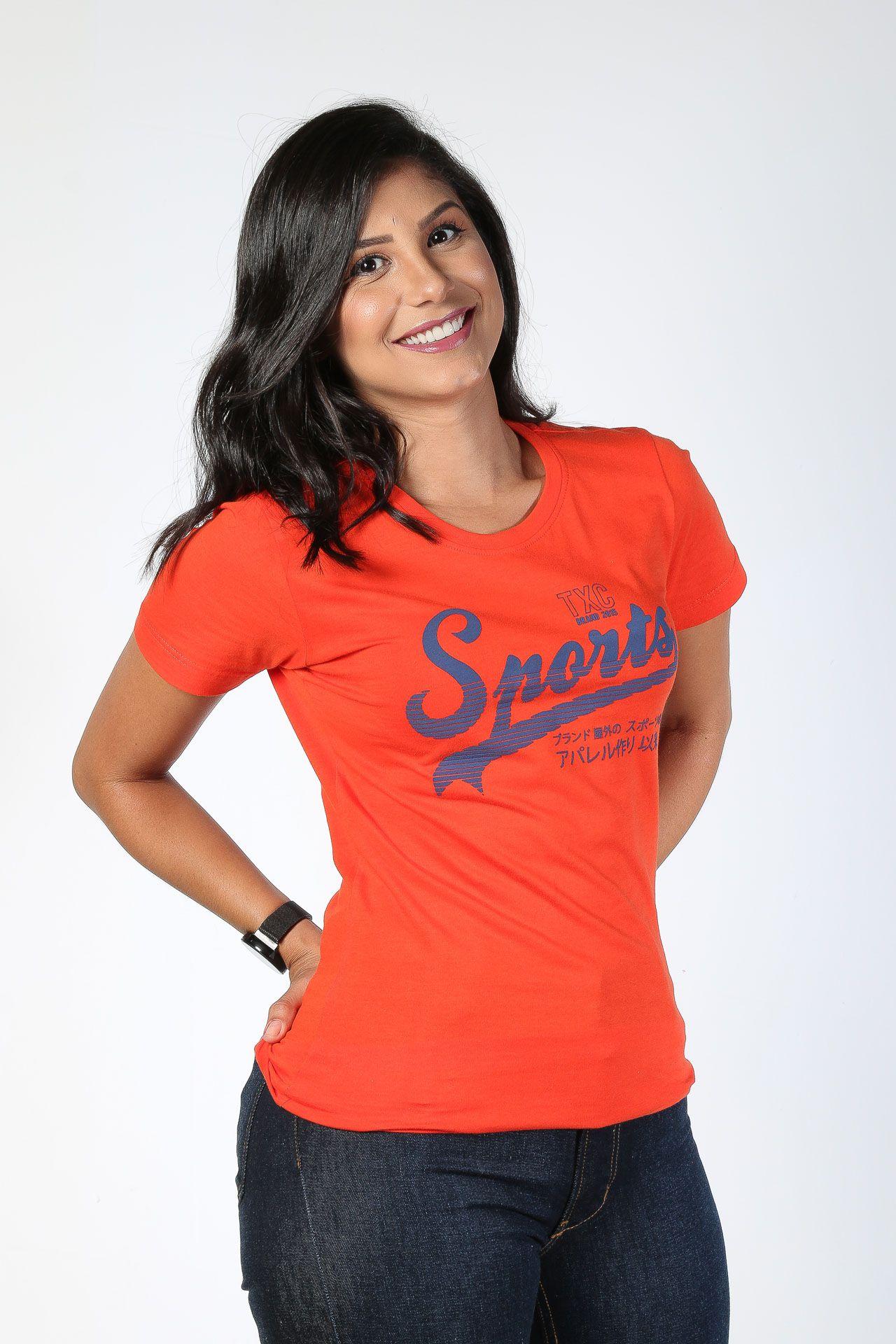 Camiseta Feminina TXC 4531