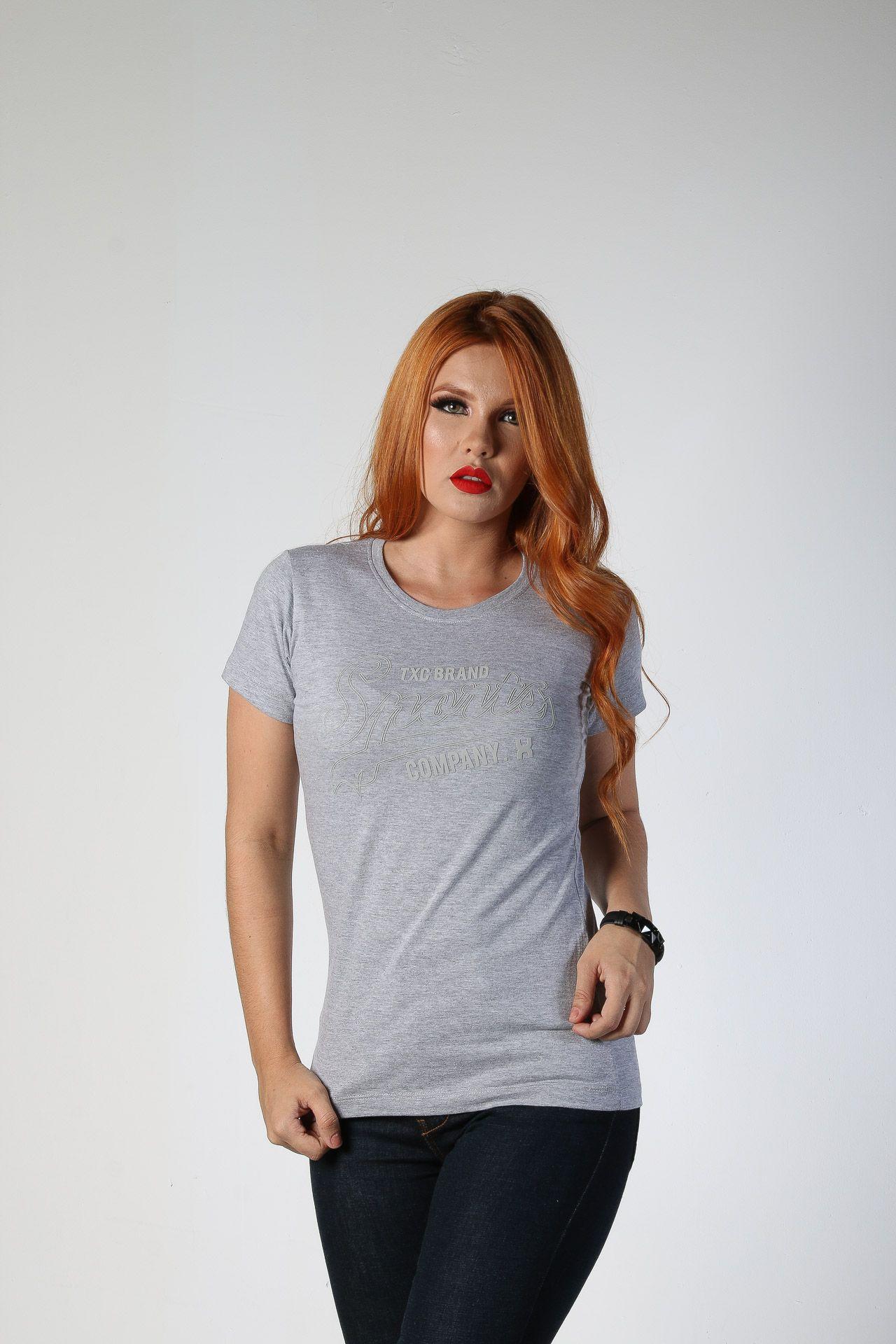 Camiseta Feminina TXC 4533