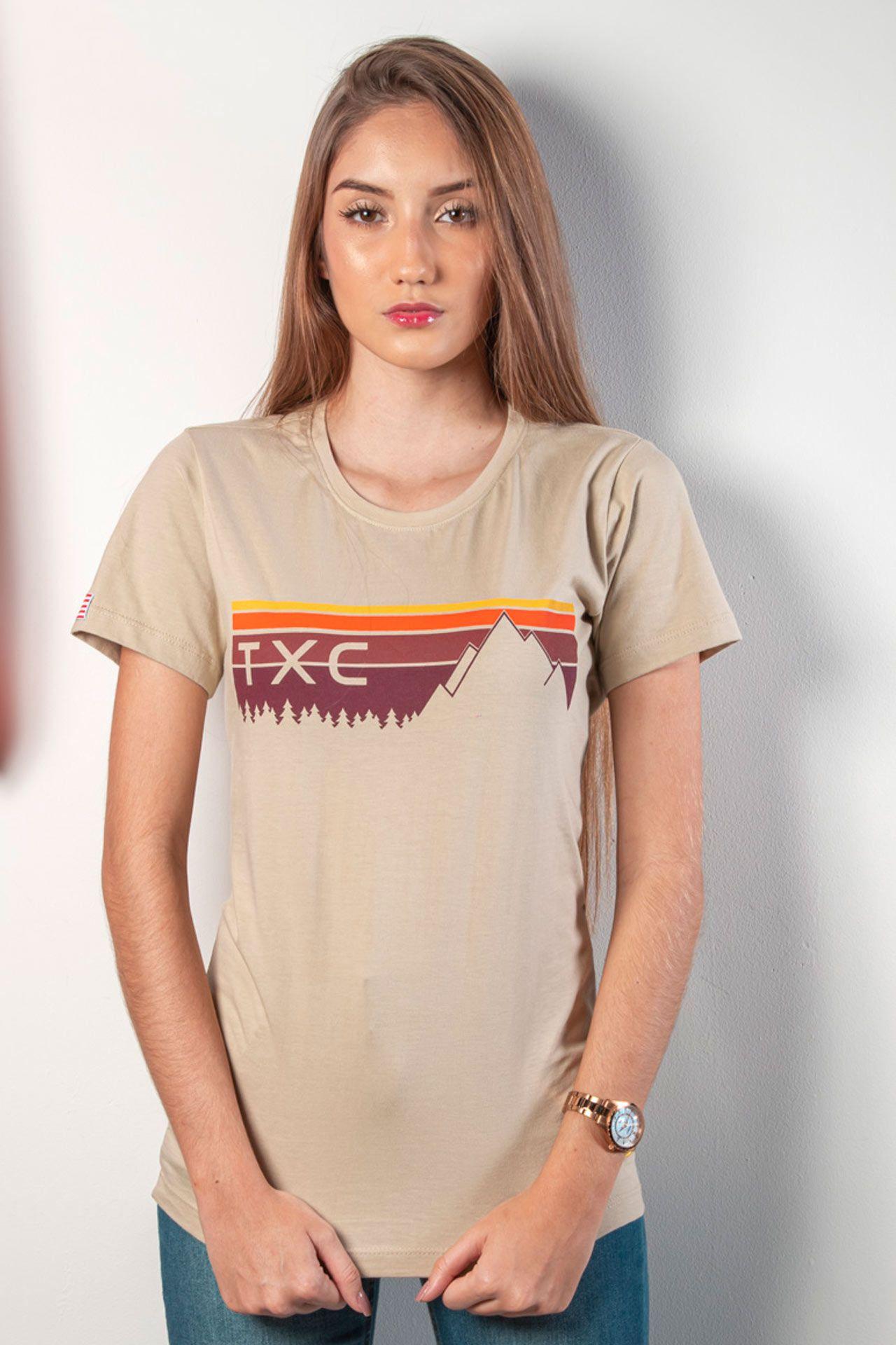 Camiseta Feminina TXC 4655