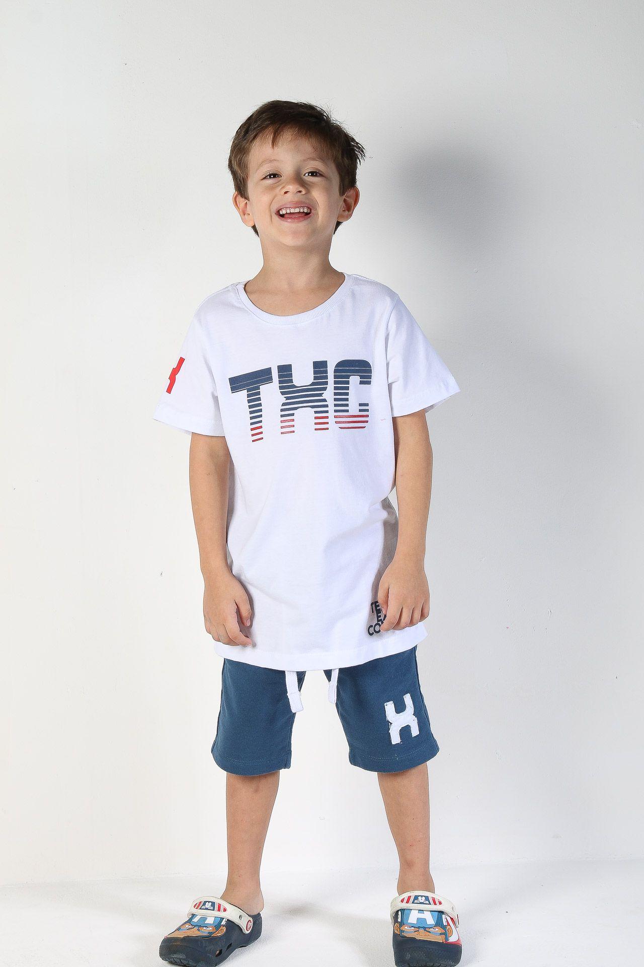 Camiseta Infantil TXC 14090I