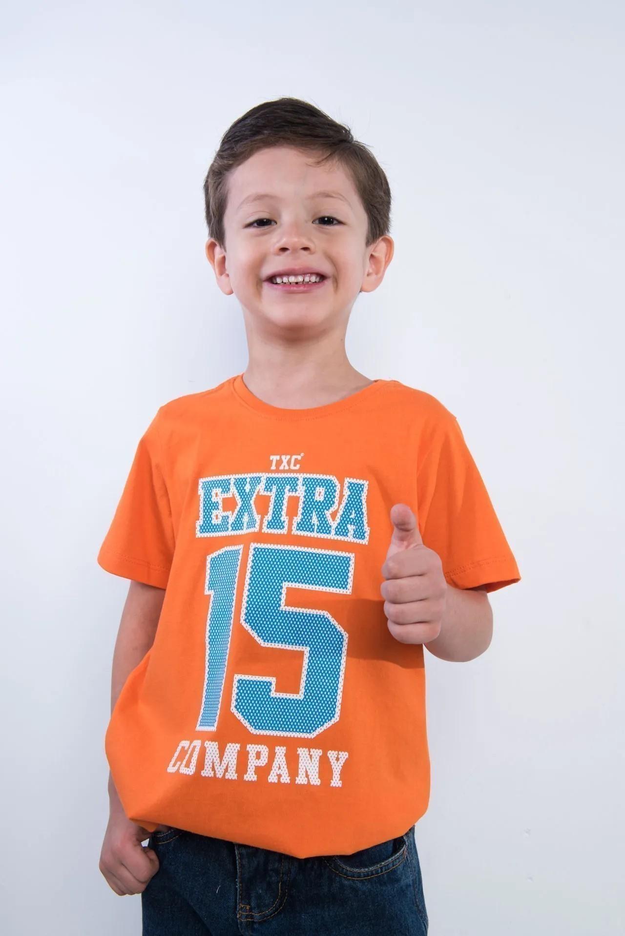 Camiseta Infantil TXC 14095I