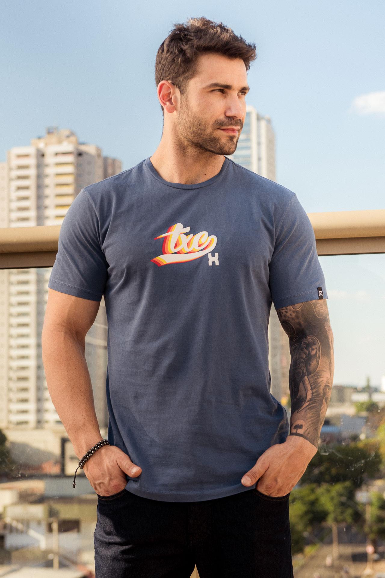 Camiseta Masculina TXC 1357