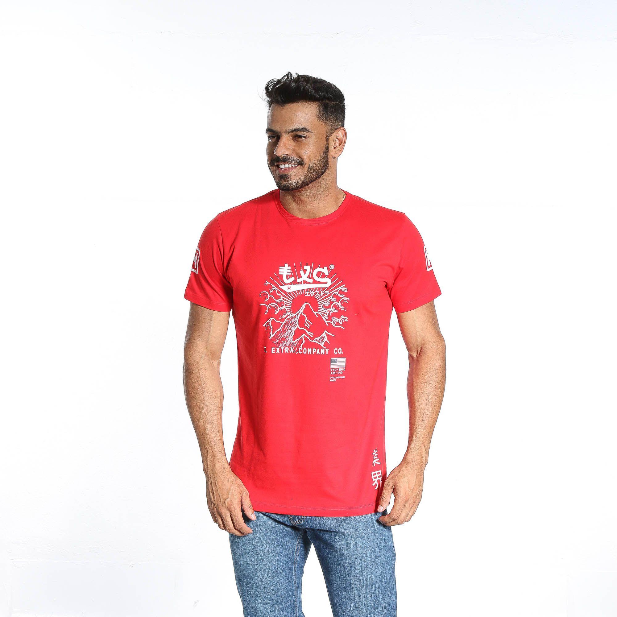 Camiseta Masculina TXC 1621
