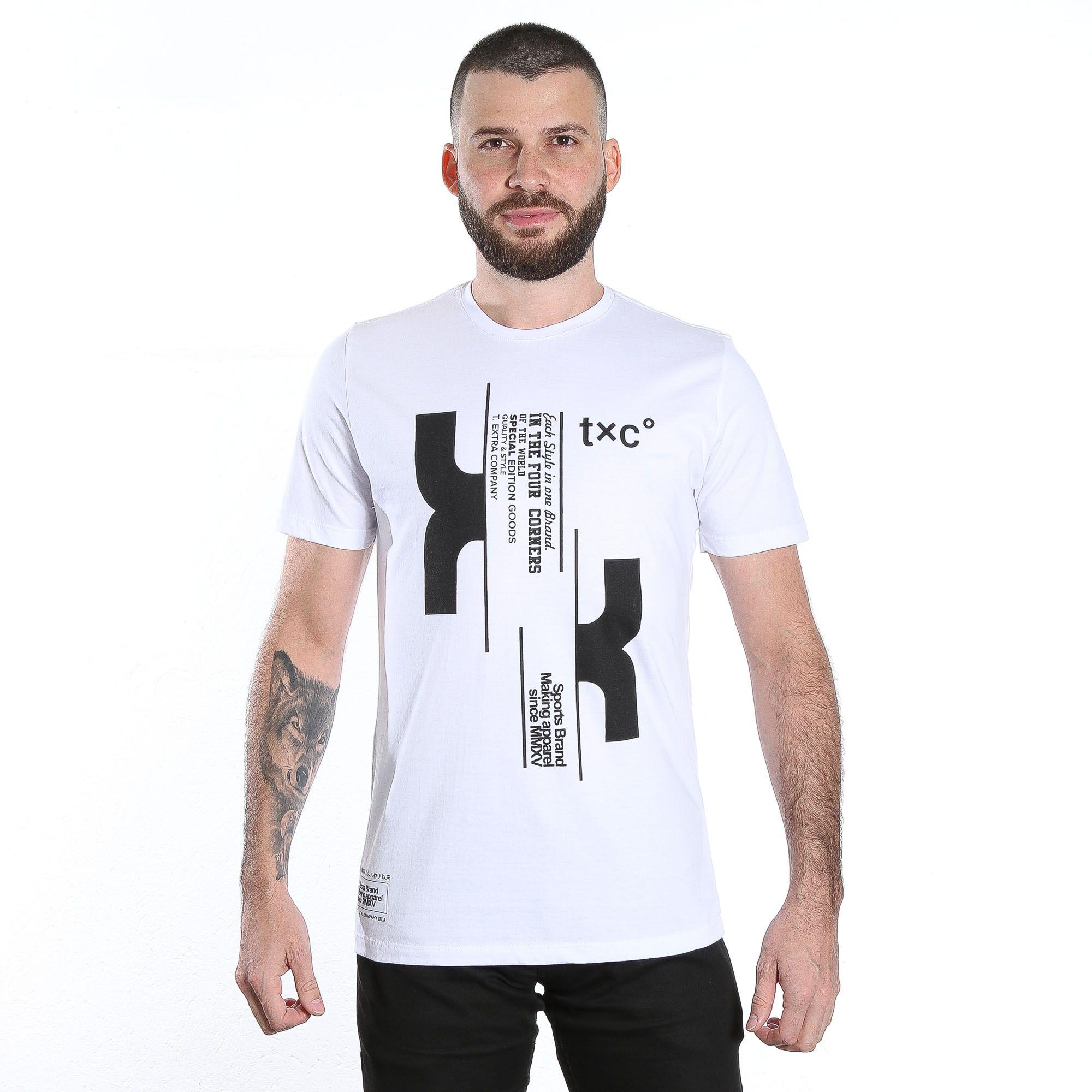 Camiseta Masculina TXC 1628