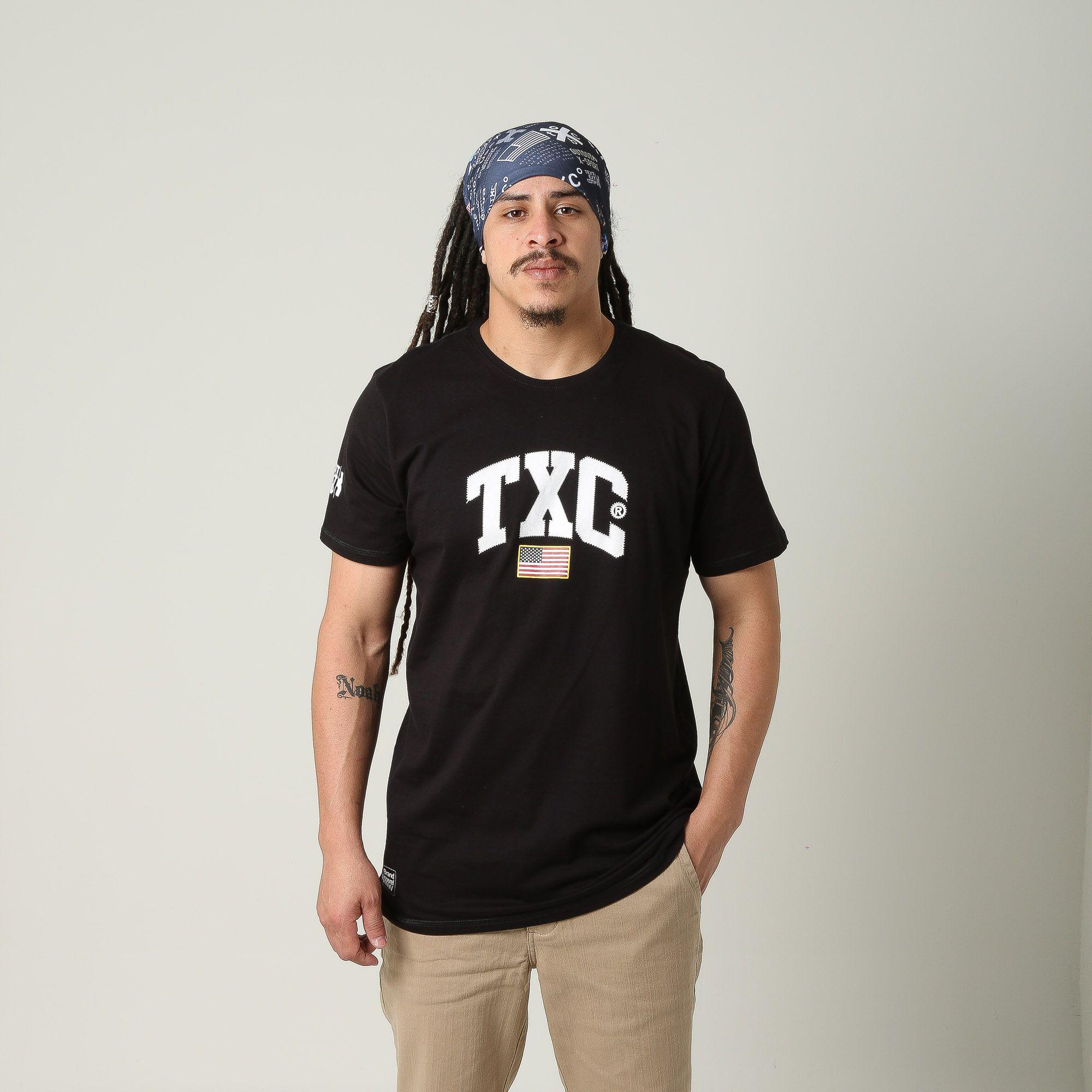 Camiseta Masculina TXC 1669