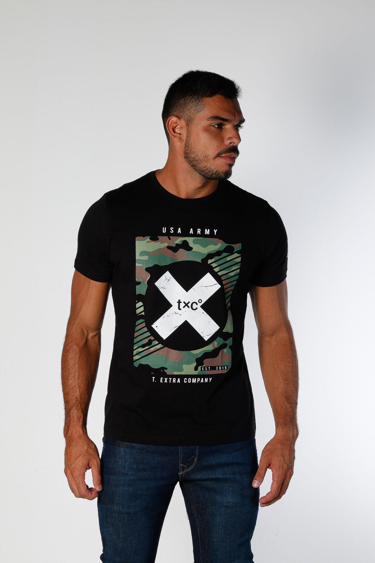 Camiseta Masculina TXC 1696
