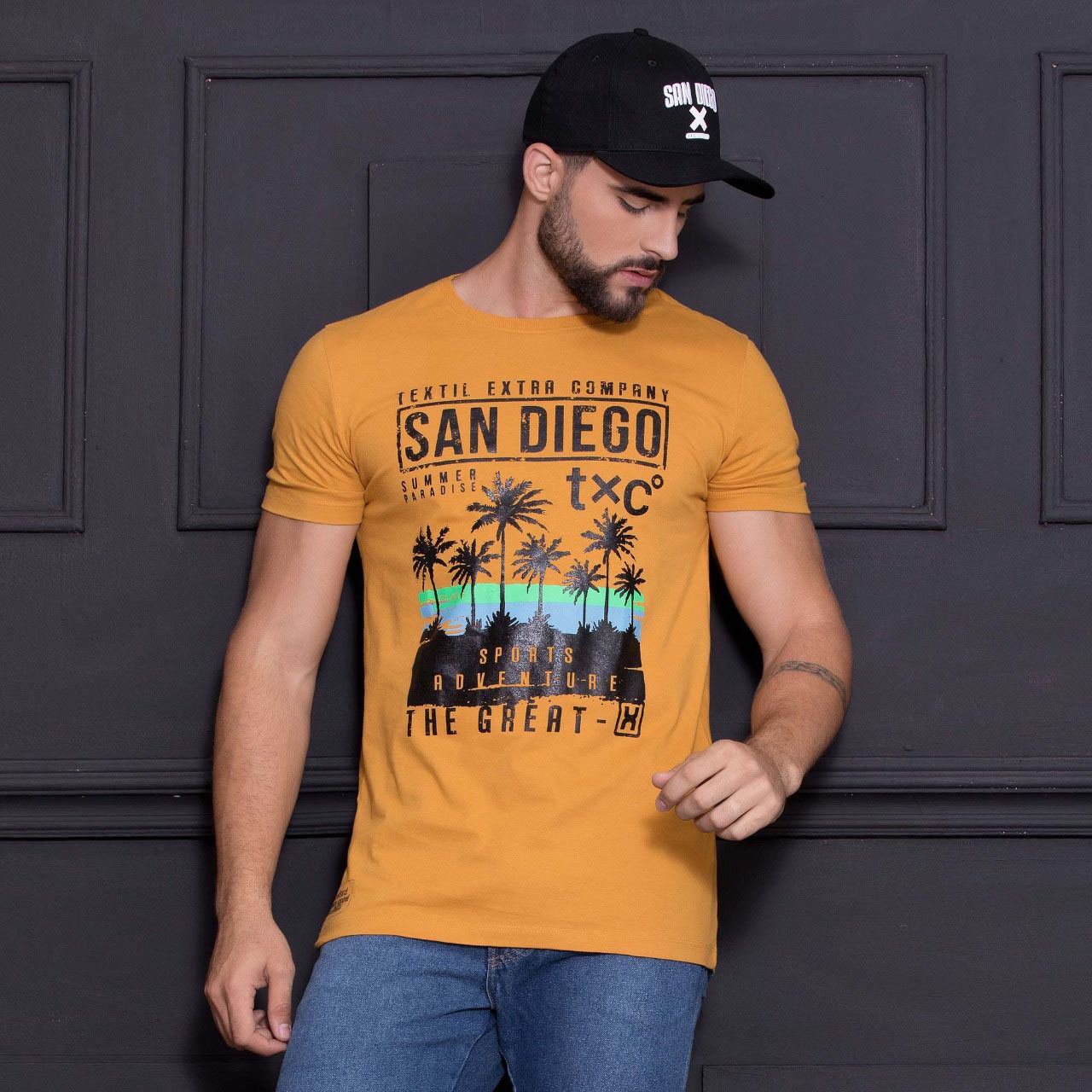 Camiseta Masculina TXC 1758