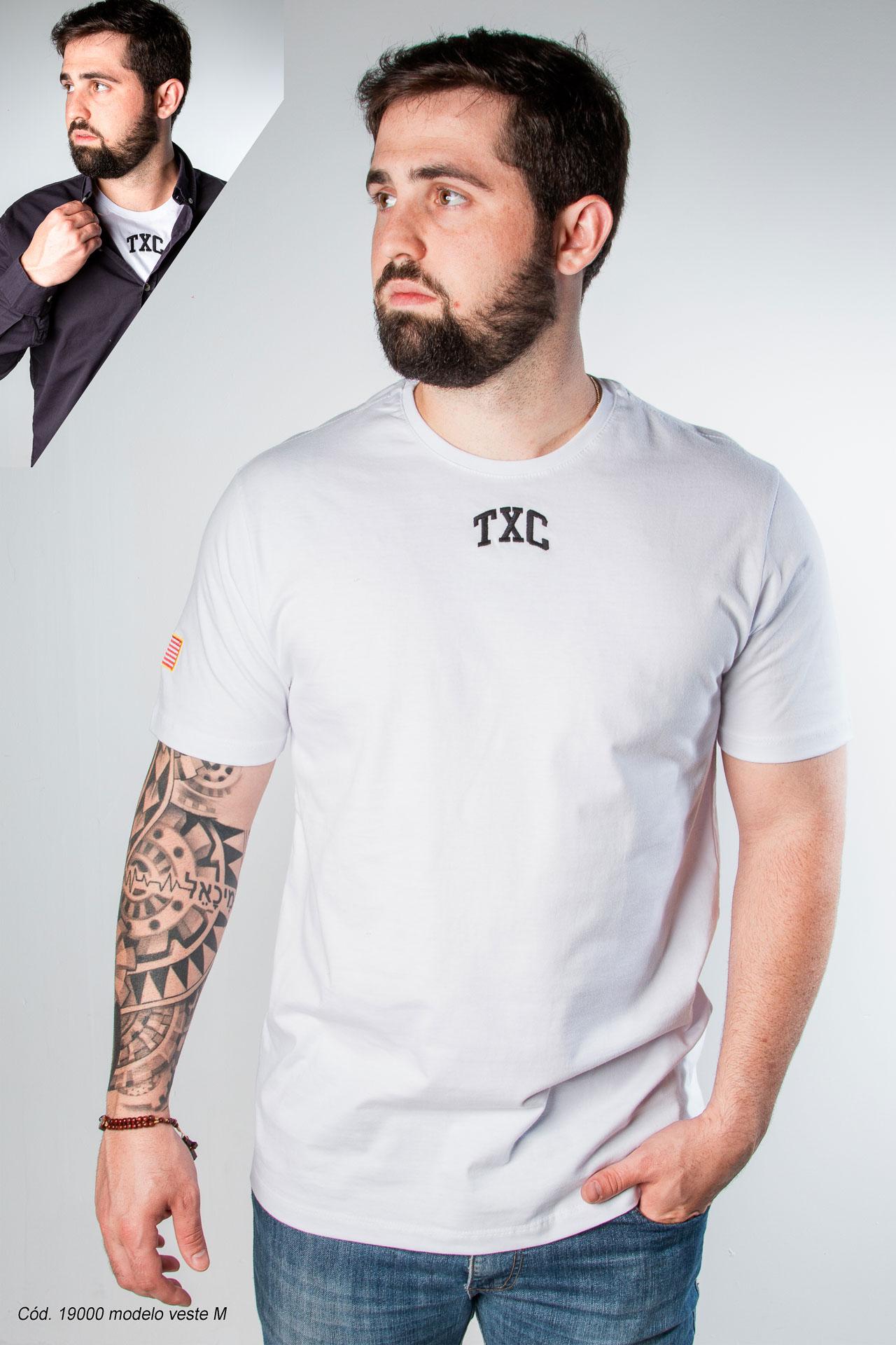 Camiseta Masculina TXC 19000