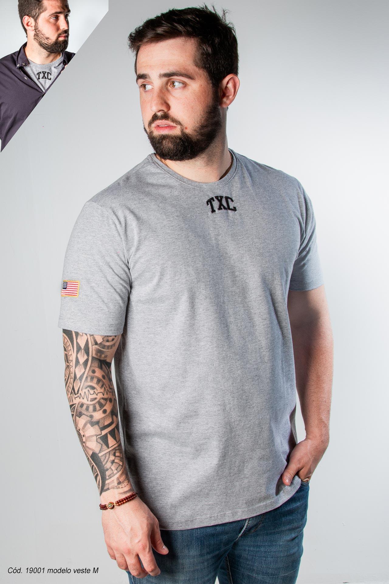 Camiseta Masculina TXC 19001