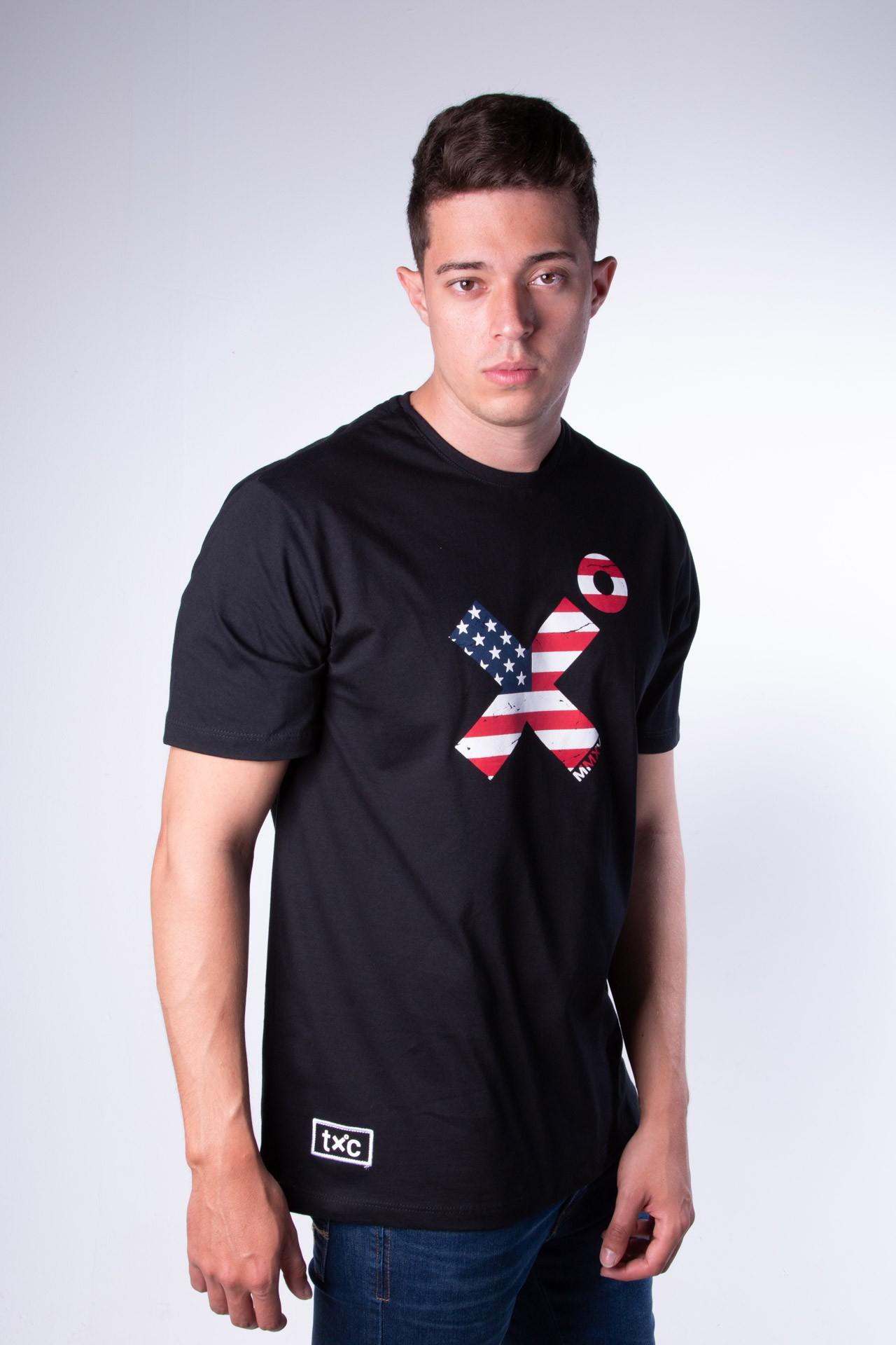 Camiseta Masculina TXC 19017