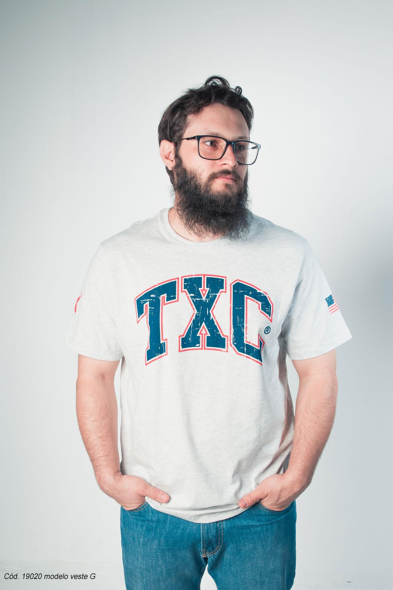 Camiseta Masculina TXC 19020