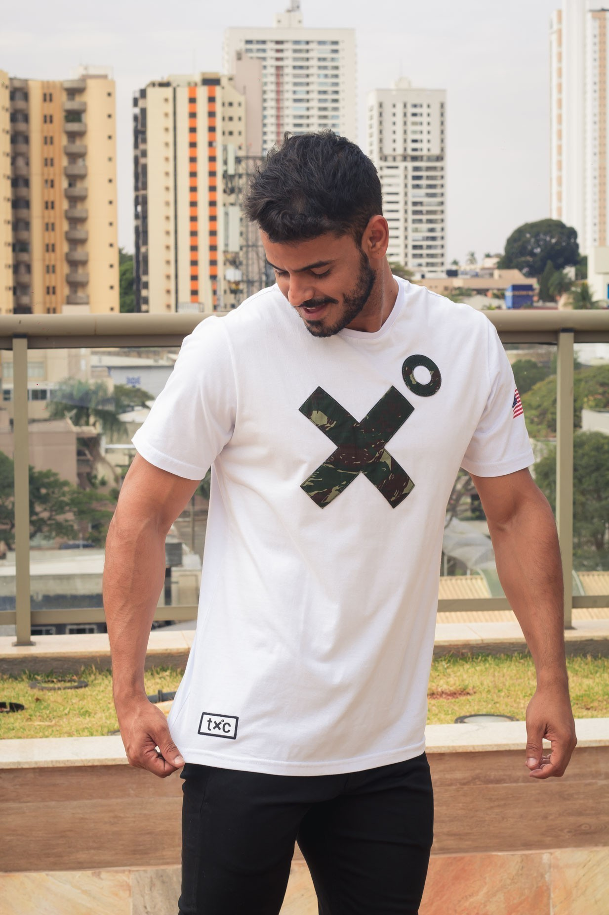 Camiseta Masculina TXC 19021