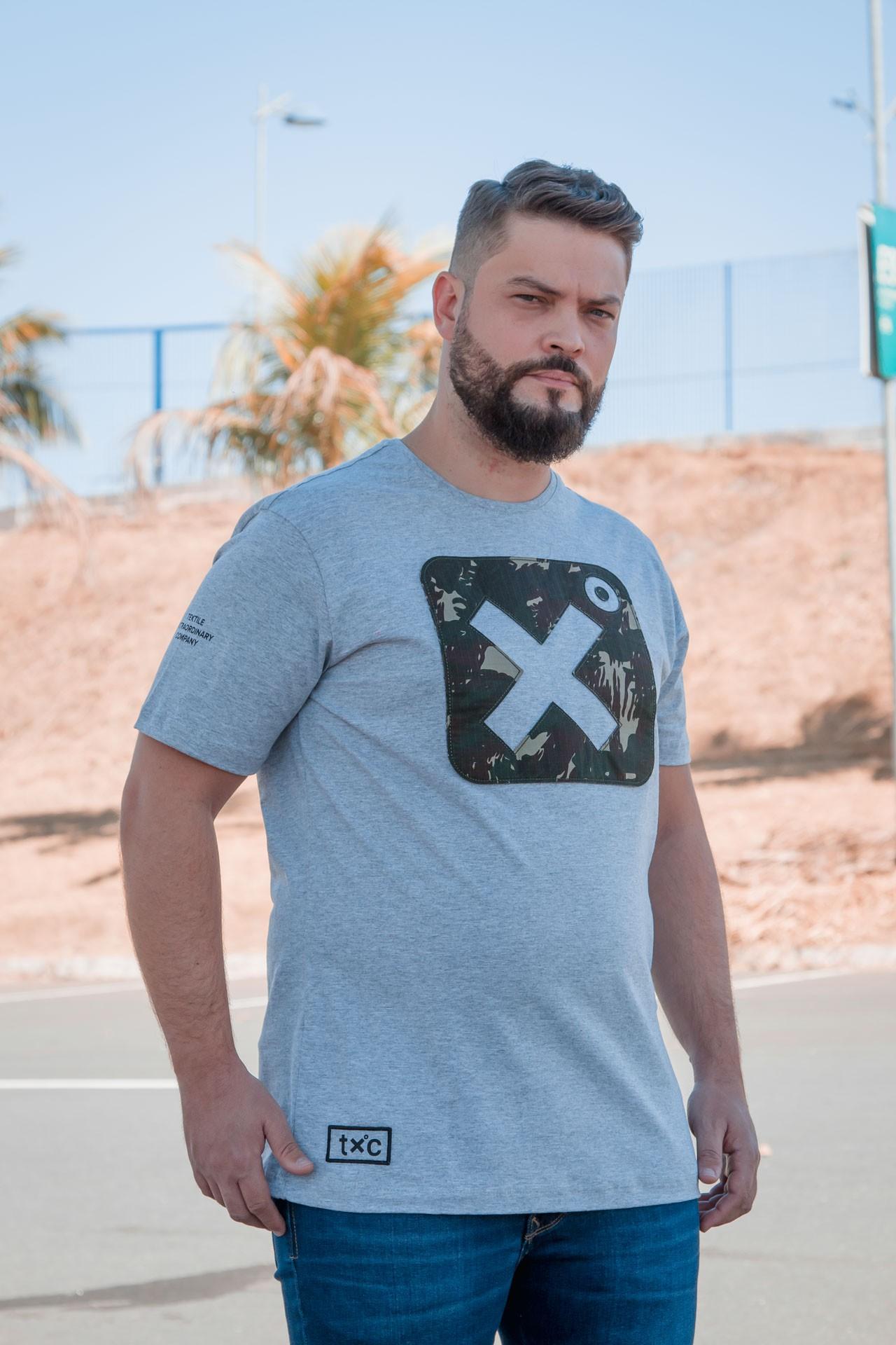 Camiseta Masculina TXC 19026