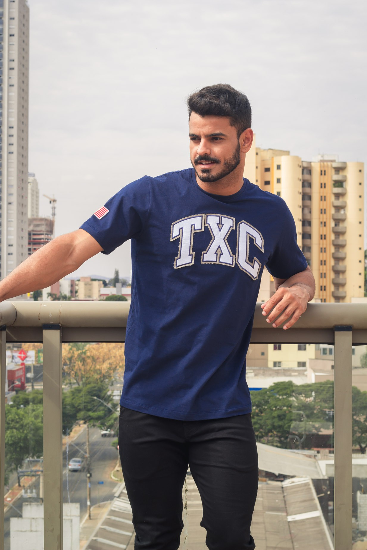 Camiseta Masculina TXC 19047