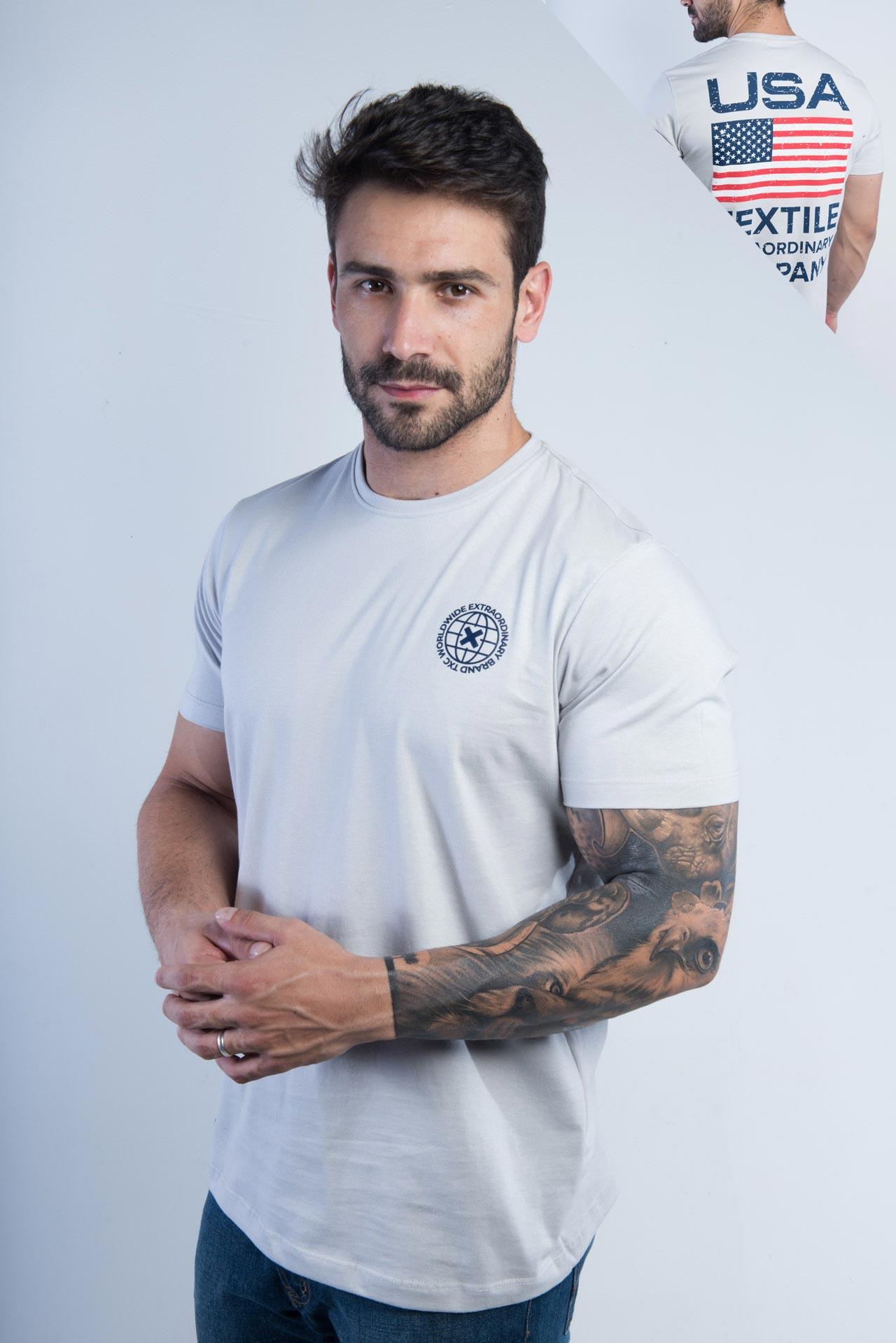 Camiseta Masculina TXC 19090