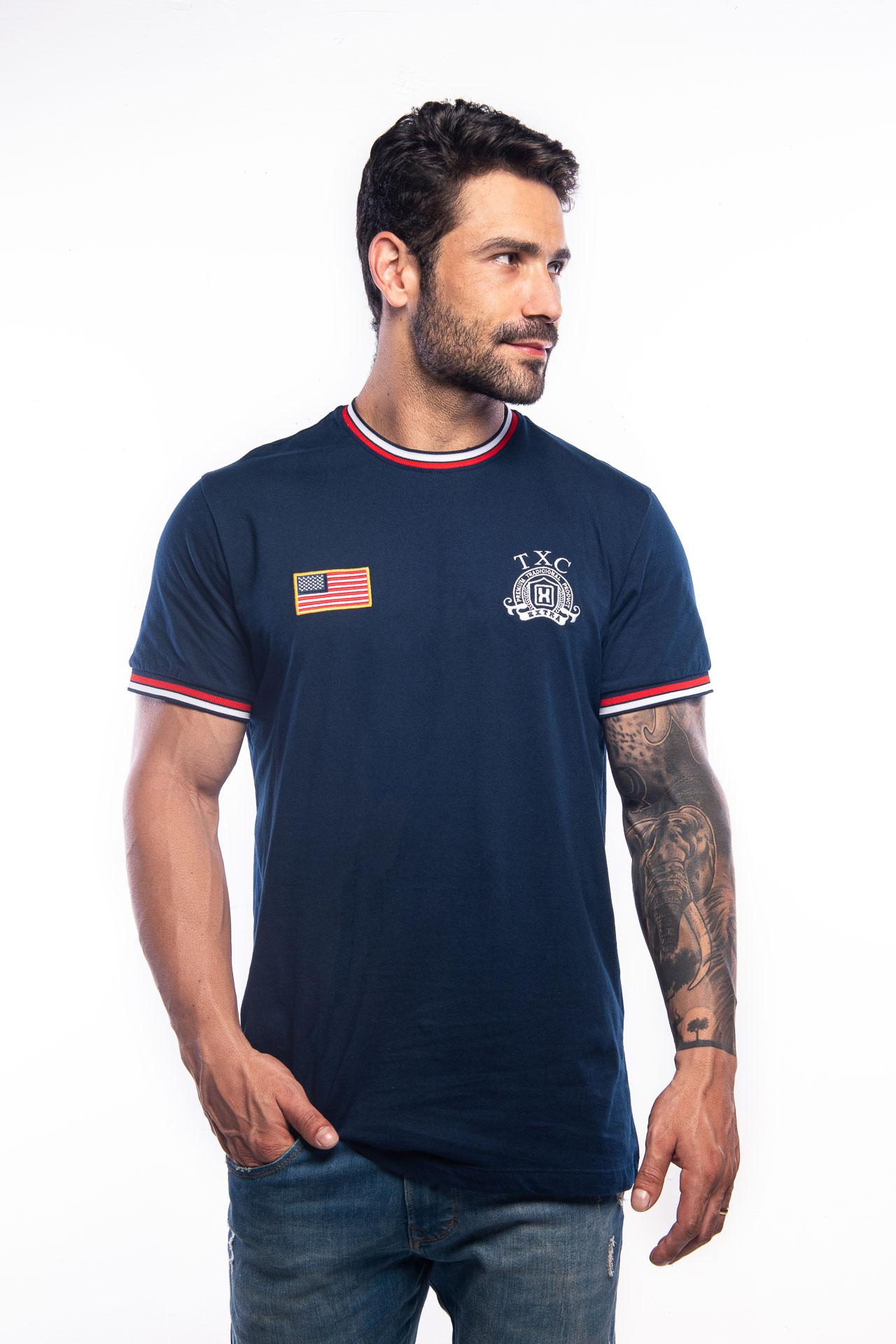 Camiseta Masculina TXC 19146