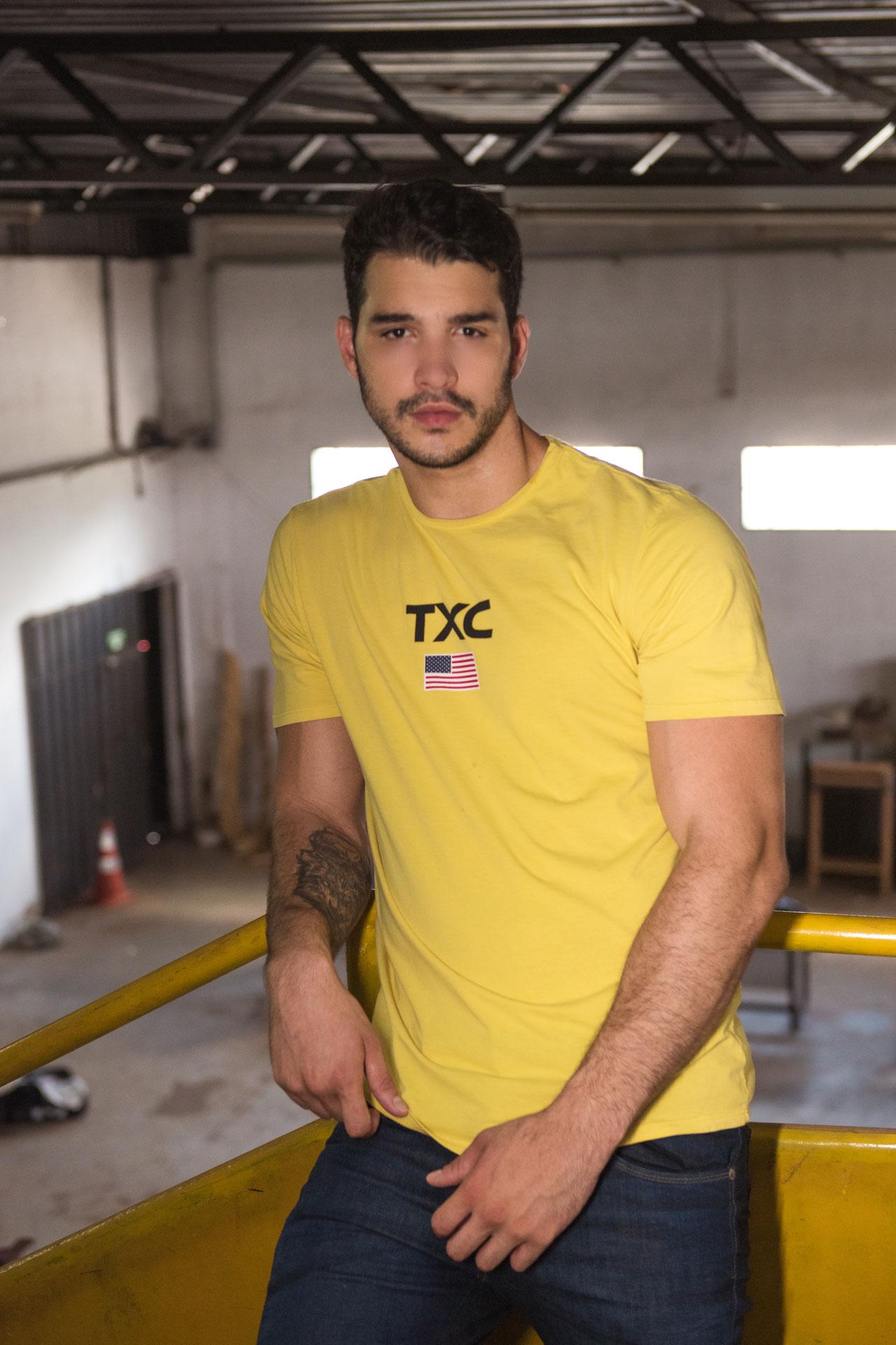 Camiseta Masculina TXC 19258