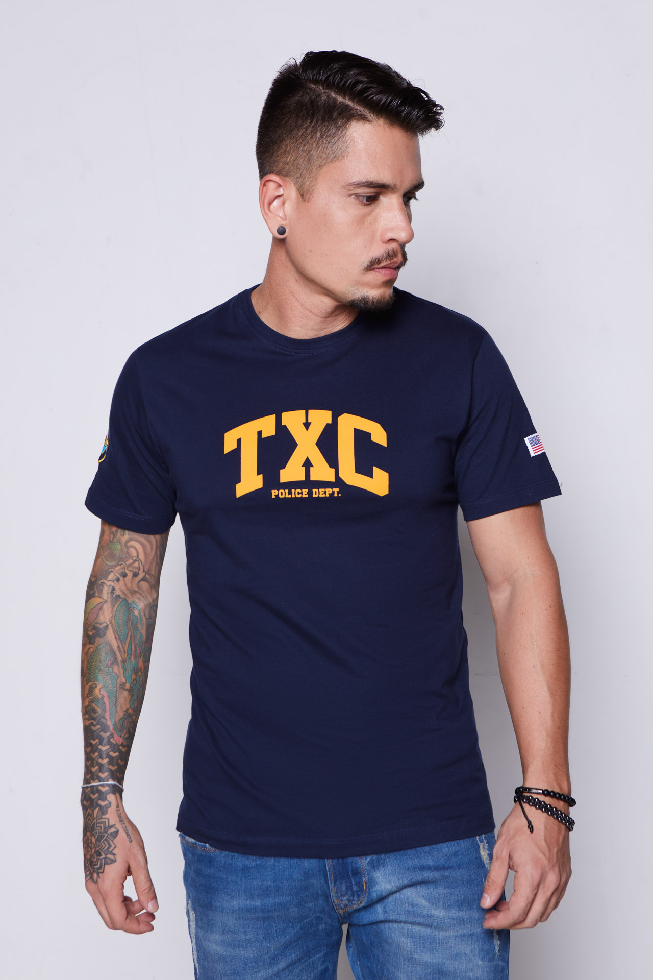 Camiseta Masculina TXC 19337