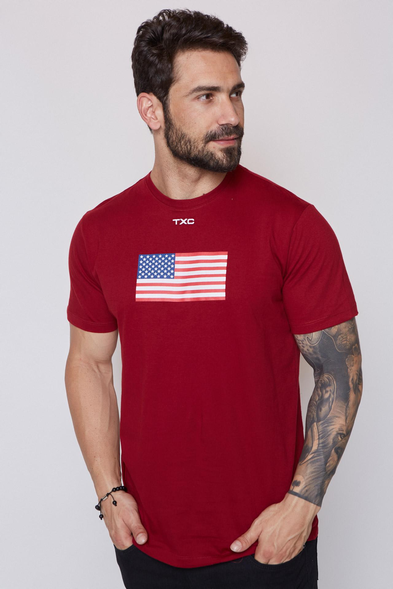 Camiseta Masculina TXC 19597