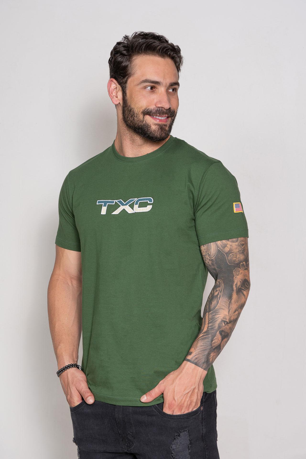 Camiseta Masculina TXC 19626