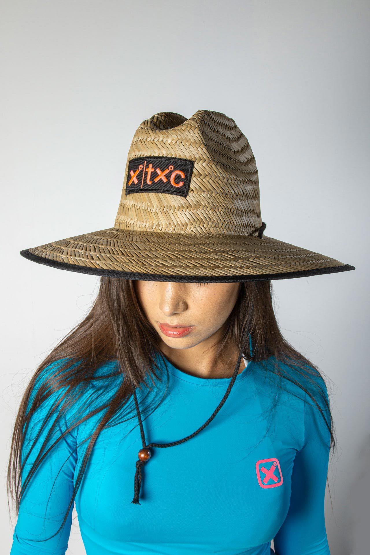 Chapéu de Palha TXC HAT X-BEACH LARANJA