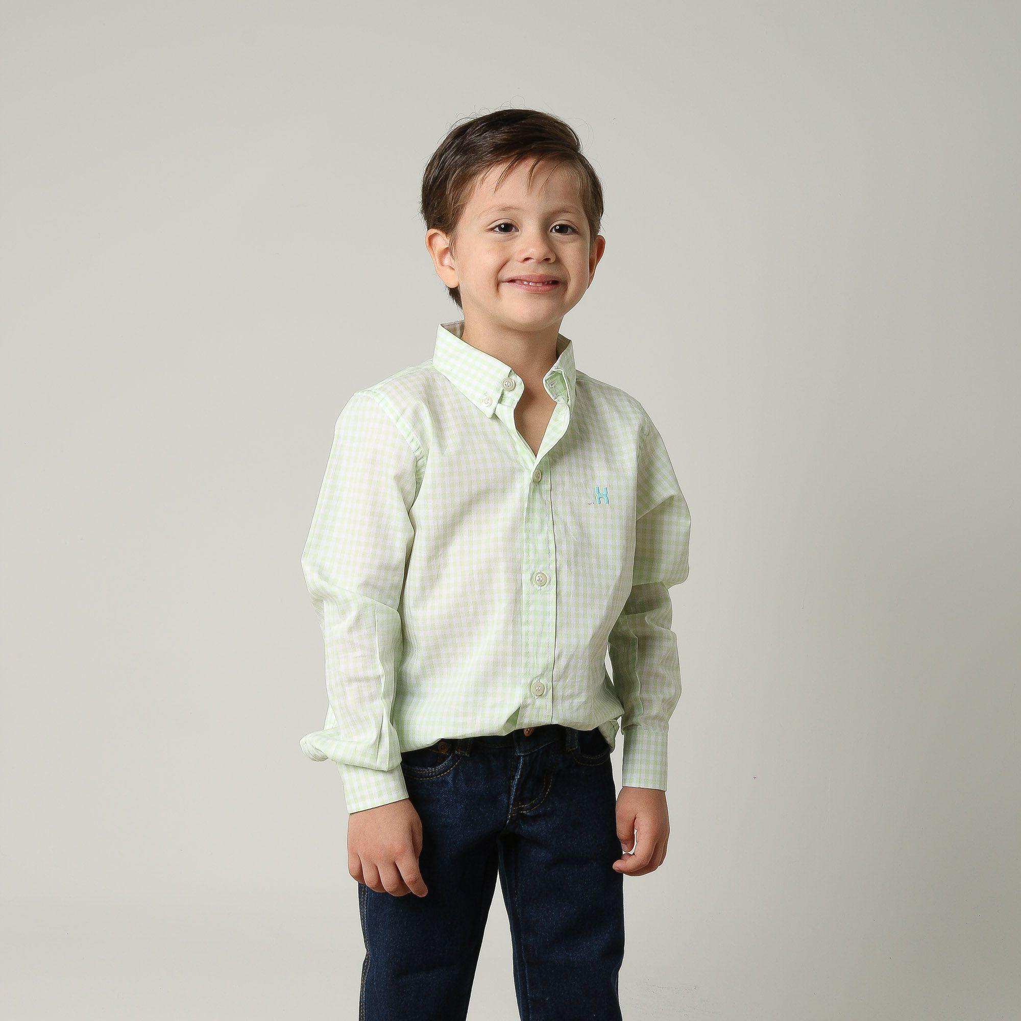 Camisa Infantil TXC 17062I