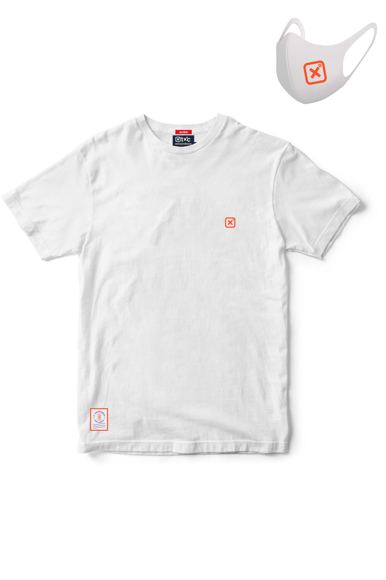 KIT Camiseta + Máscara Masculina X-Protection TXC 19162