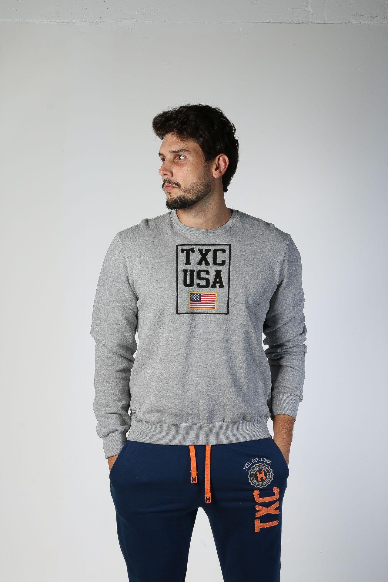 Moletom TXC Masculino 3079