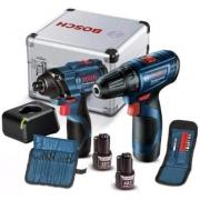 Combo Chave de Impacto GDR 120-LI + Furadeira/Parafusadeira GSR 120-LI - Bosch