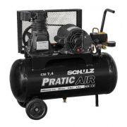 Compressor de Ar (Pistão) Pratic Air  CSV 7,4/50