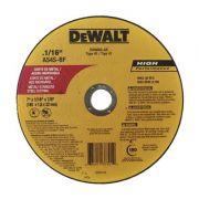 Disco de Corte 7'' x 1/16'' x 7/8'' - DeWalt - DW8065-AR