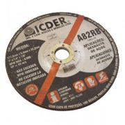 Disco de Desbaste 7'' x 1/4'' x 7/8'' – A82RB – ICDER
