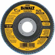 Disco Flap 4.1/2 x 7/8 60G – DW8308-AR - DeWalt