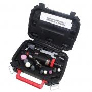 Kit Retífica Pneumática Reta 1/4 com 15 acessórios - Sigma