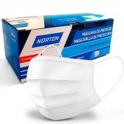 Máscara de Proteção Tripla Camada 50 uni - Norton
