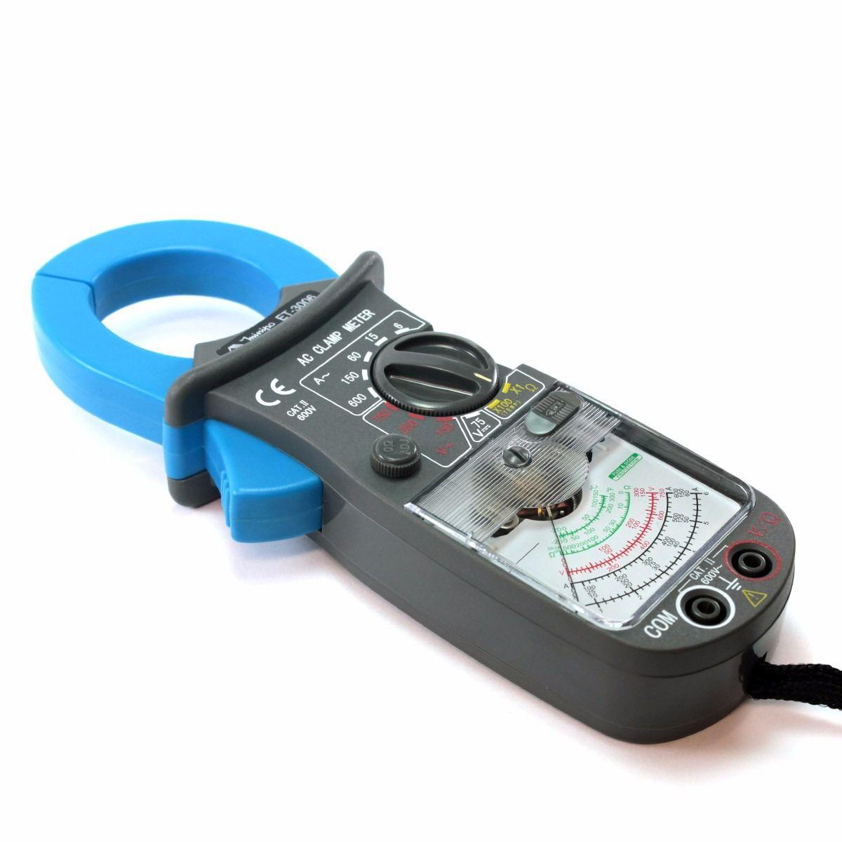 Alicate Amperímetro Analógico ET3006A – Minipa