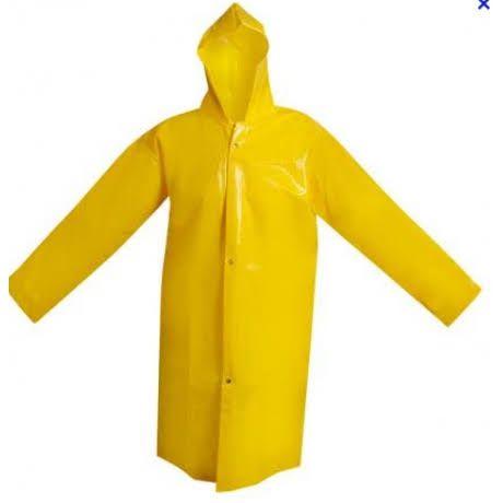 Capa de Chuva PVC Amarela PLUS – Brascamp