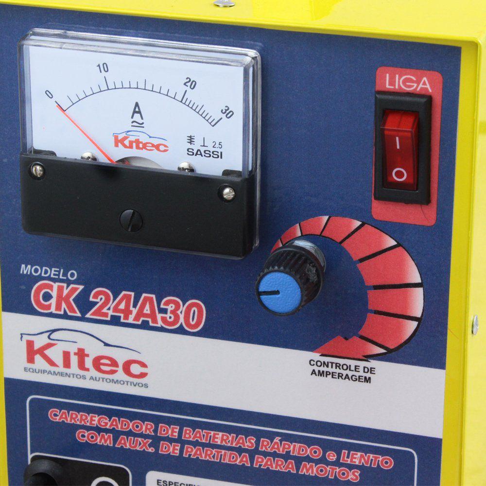 Carregador de Bateria – CK24A30 – Kitec