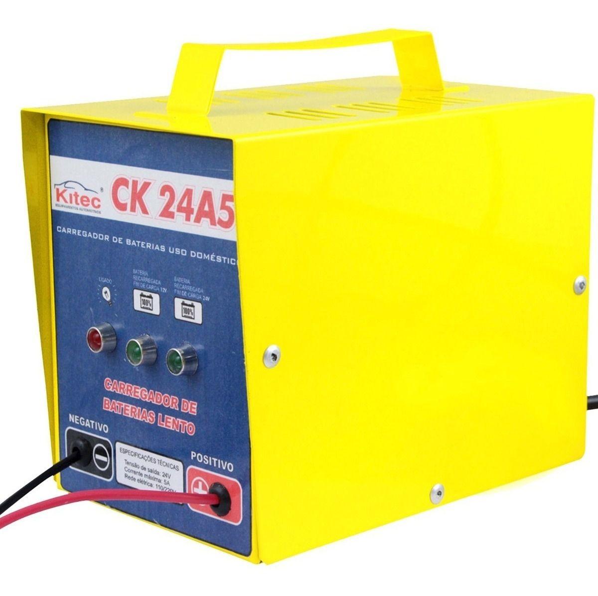 Carregador de bateria CK 24A5C - Kitec
