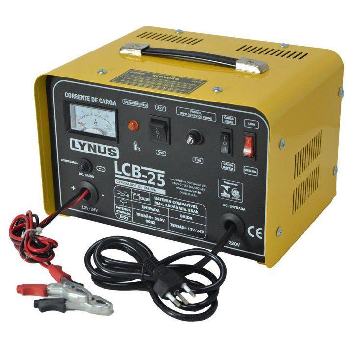Carregador de bateria LCB-25 – Lynus