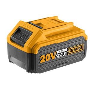 Combo Bateria 20V Li-Íon 4.0 aH Max + Carregador 20V Bivolt - Ingco
