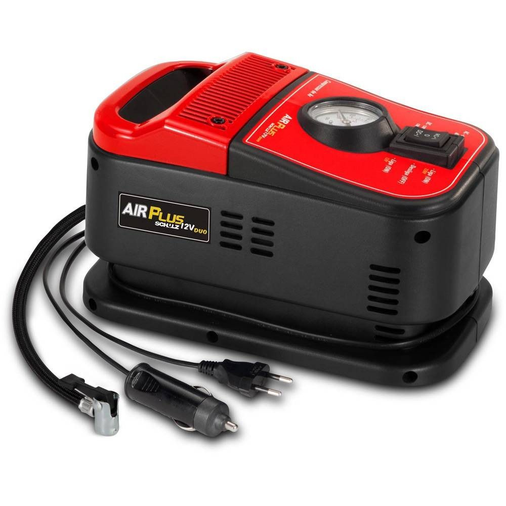 Compressor de ar Air Plus 12V Duo – Schulz
