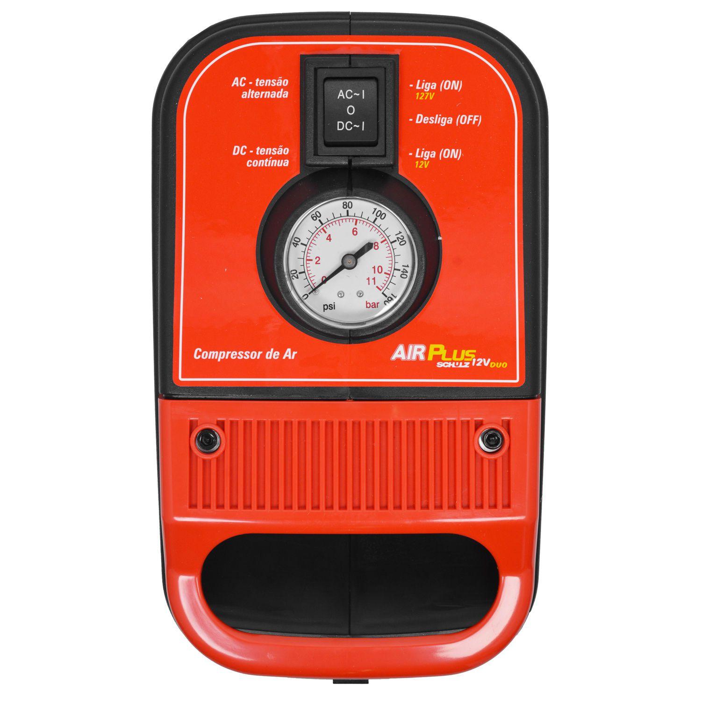 Compressor de ar Air Plus 12V Duo – Schulz